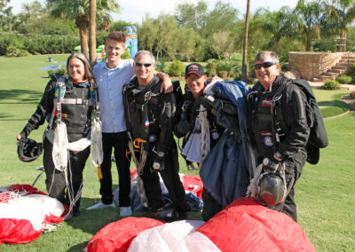 Professional Skydiving Team - Event Performances Aerial Extreme (3)
